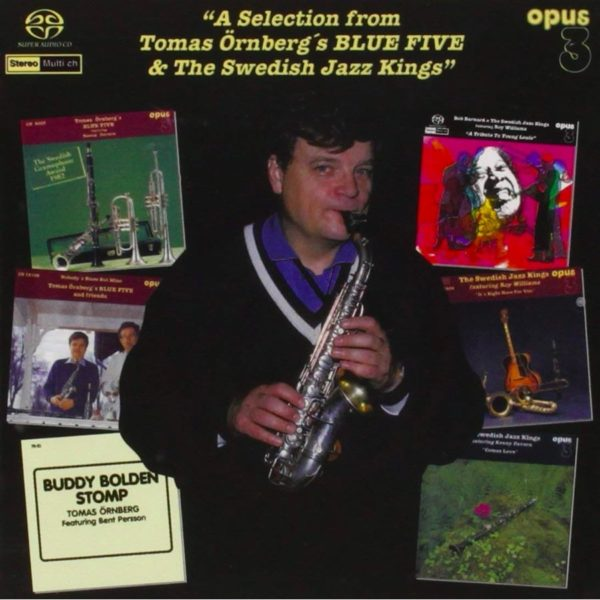 SACD Opus 3 Tomas Örnberg's Blue Five & The Swedish Jazz Kings