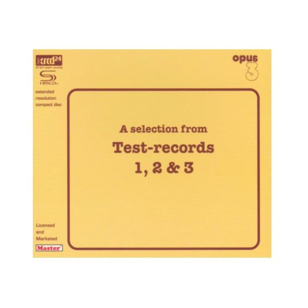 """Opus 3 """"A selection from Test-records 1, 2 & 3"""""""