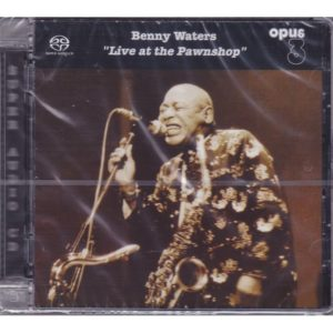 """Opus 3 Benny Waters """"Live at the Pawnshop"""""""